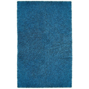St. Croix Trading Company Chenille Shag 1.2m x 1.8m Area Rug - Blue