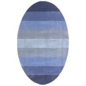 St Croix Trading Company Aspect Blue Stripes 5x8 Area Rug