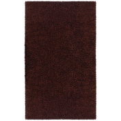 St Croix Trading Company Shagadelic Brown Chenille Twist 4x6 Area Rug