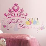 Roommates Disney Princess - Crown Peel & Stick Giant Wall Decal