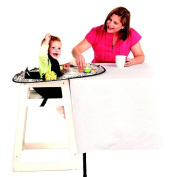 Neatnik Saucer® High Chair Cover & Placemat In One - The Cambridge - Blue/Green