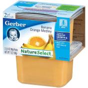 Gerber 2nd Food Puree Nature Select Banana Orange Medley
