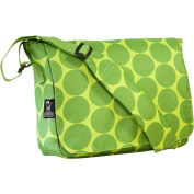 Wildkin 41086 Big Dots Green Kickstart Messenger Bag