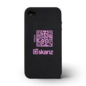 Skanz Black/Bright Pink iPhone Case