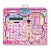 Hot Focus Stylin' Calculator Set - Butterfly