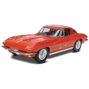 Revell 1:25 Scale Snap Model Kits - 1963 Corvette Sting Ray Coupe