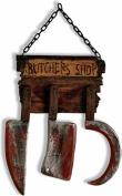 Halloween Butcher Shop Door Sign