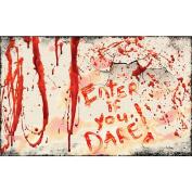Halloween Bloody Doormat