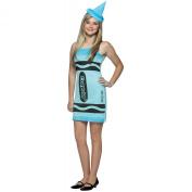 Sky Blue. Crayon Halloween Costume - Teen Size 13-16