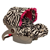 Baby Bella Maya Infant Car Seat Cover - Zoe Zebra