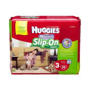 Huggies Little Movers Slip On Nappies Size 3 - 26 Ct Jumbo Pack
