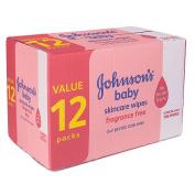 Johnson's Baby Skincare Wipes - 768CT