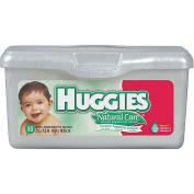 Huggies Natural Care Baby Wipes with Tub