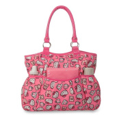 Hello Kitty All Over Print Nappy Bag - Pink
