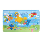 Sesame Street Underwater Decorated Bath Mat by Ginsey Home Solutions