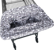 JJ Cole Shopping Cart Cover - Ash Woodland