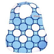 Baby Star Bib - Tag Blue