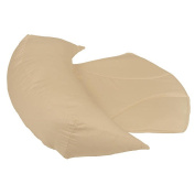 Leachco Belly Bumper Compact Side Sleeper Pillow - Khaki