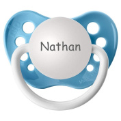 BPA Free Nathan Pacifier with Protection Cap - Blue