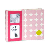 Babyprints Photo Album Dots Pink