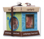 Carter's Resin Bank and 4 Sided Picture Frame