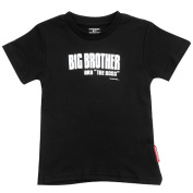 Silly Souls BS-2-2T Big Brother- Aka The Boss- 2T Tee- Black