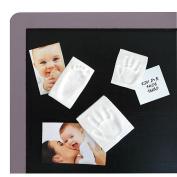Baby Art Print on Magnet Keepsake