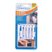 Dream Baby L181 Safety Catches - 12 Pack