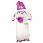 Sozo Girls Early Bird Gown and Cap Set