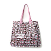 Baby Star Nappy Tote Bag - Flutter Pink