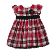 Carter's Mixed Cheque Dress Set - Red