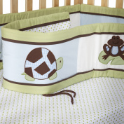 Pam Grace Creations Crib Bumper - Mr. & Mrs. Pond