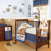 CoCaLo Baby Lil Aviator 8-Piece Crib Bedding Set