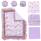 FAO Schwarz Giselle 7 Piece Crib Bedding Set