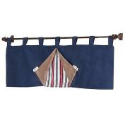 JoJo Designs Nautical Nights Collection 9-Piece Crib Bedding Set