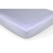 Carter's Easy-Fit Sateen Crib Fitted Sheet - Lilac