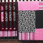 JoJo Designs Madison Collection 9-Piece Crib Bedding Set