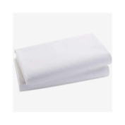 Bacati White Crib Baby Fitted Sheet