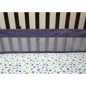 Crown Crafts Beautiful Butterfly Mesh Crib Liner