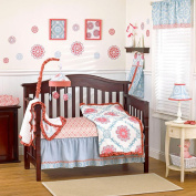 CoCaLo Baby Dahlia 4-Piece Bedding Set