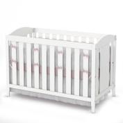South Shore Savannah Crib & Toddler Bed - Pure White