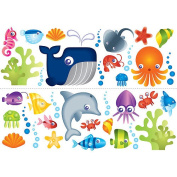 Fun 4 Walls Wall Decals - Under the Sea Stickarounds