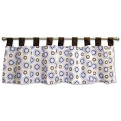 Trend Lab 106571 Blueberry- Window Valance