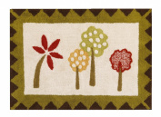 Elephant Brigade Rug - Red,Brown,Yellow