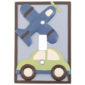 Kids Line Mosaic Transport Switch Plate Cover