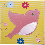 Studio Arts Kids Under the Tree Collection Embellished Wall Hanging - Bird