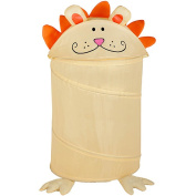 Honey Can Do Milo the Lion Animal Clothes Hamper - Yellow