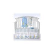 Halo SleepSack 5-Piece Bumper-Free Crib Set  Serengeti Blue