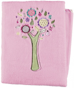 Living Textiles Baby Plush Blanket - Baby Doll