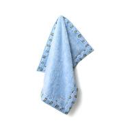 Baby Star Poodle Blanket - Hopscotch Blue